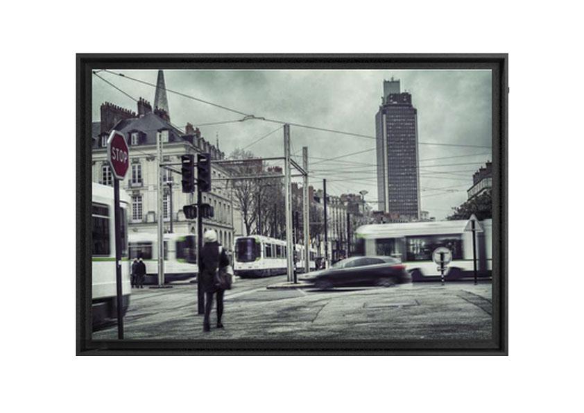 Caisse Américaine réalisée par Artlabs, photo La Ville de Antoine Violleau en vente à 250€