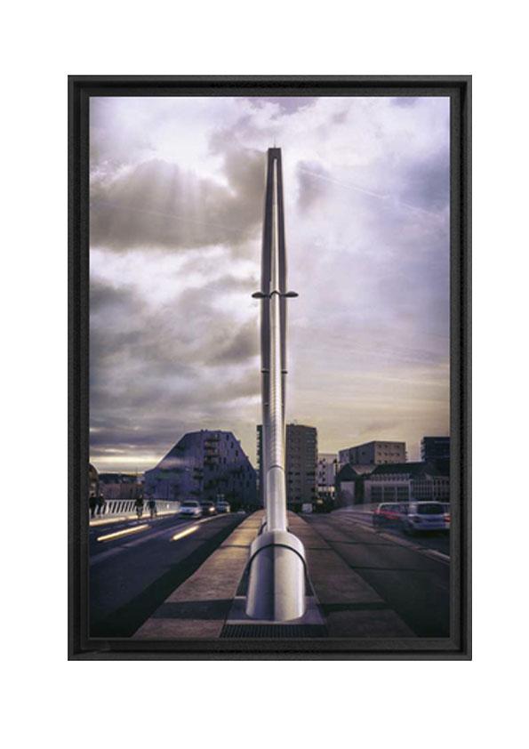 Caisse américaine réalisée par Artlabs artdeqo. Photo Tabarly au soleil de Antoine Violleau en vente 250€